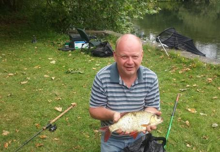 Rudd: 3pound 2oz Rudd caught by Bob course at Avon castle
