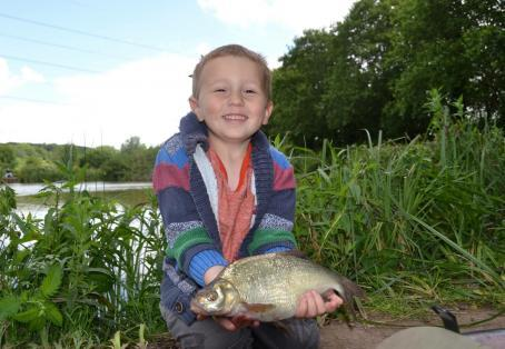 Bream: First fishing trip. :)
