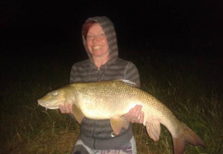 Barbel: My first barbel on the River Trent