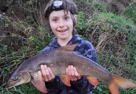 Barbel: My 1st ever fish