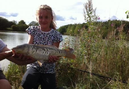 Ghost carp: First time fishing beat my grandad