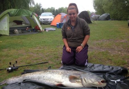 Catfish: My PB catfish at new farm
