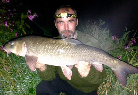 Barbel: First double 11lb 5oz