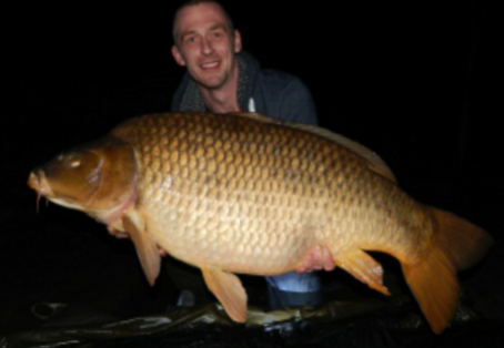 Common carp: First fish in 48hr session