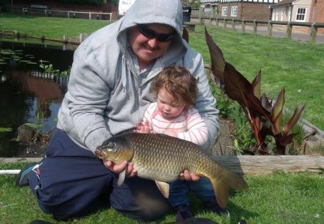 Common carp: Scarlett firs carp