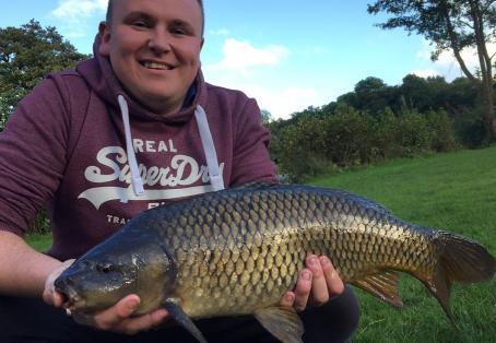 Common carp: Short session success!