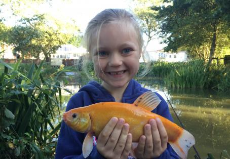 Tench: Daisy's first fish