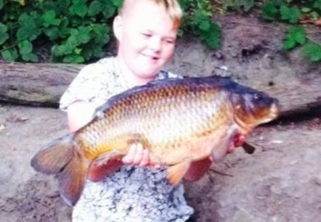 Common carp: 15lbs common local reser