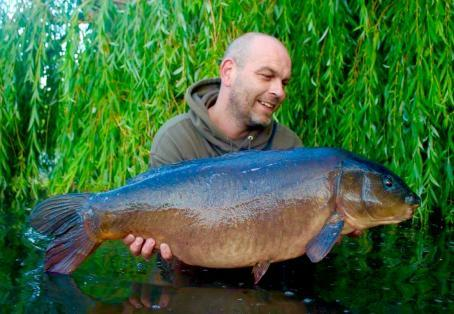 Leather carp: Lee Hatton's Park Lake Catch