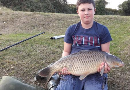 Common carp: Billy anderson age 11