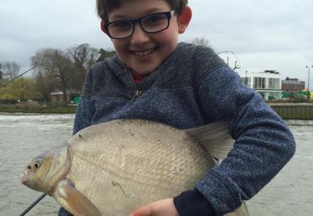 Bream: Oliver's 7lb 3oz bream
