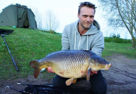 Common carp: 28.8oz new PB