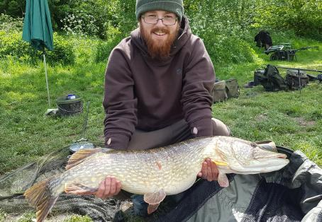 Pike: Picked this up fishing for Carp.