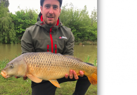 Common carp: Nice double-figure common