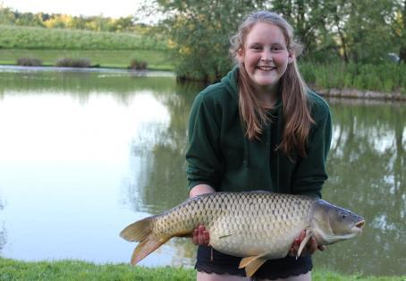 Mirror carp: Lily-MaeWhitty