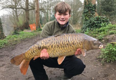 Fully-scaled mirror carp: New PB Carp